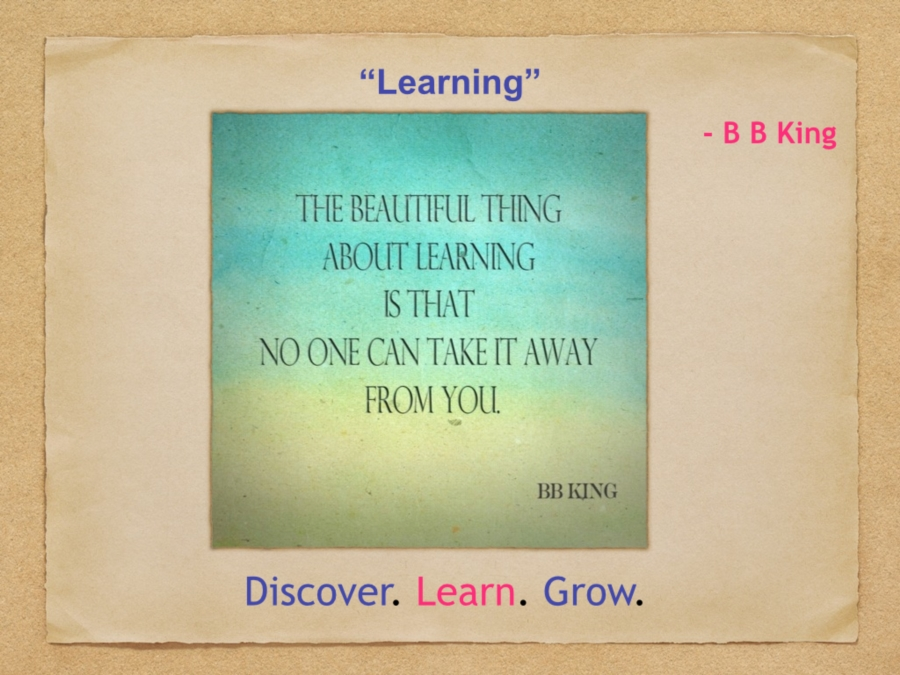 Learning : BB King
